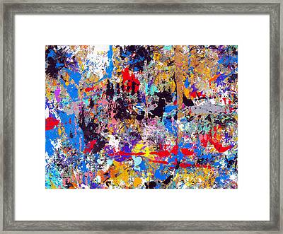 Color Spectrum Framed Print by Charles Yates
