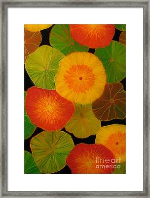 Color Splash 5 Framed Print by Anna Skaradzinska