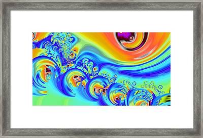 Color Splash Framed Print by Anastasiya Malakhova