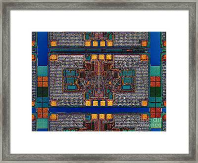 Color Theory Framed Print by Steve Emery