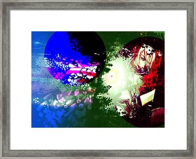 Color War Framed Print by Racquel Delos Santos