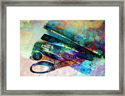 Color Your World Framed Print by Ann Powell