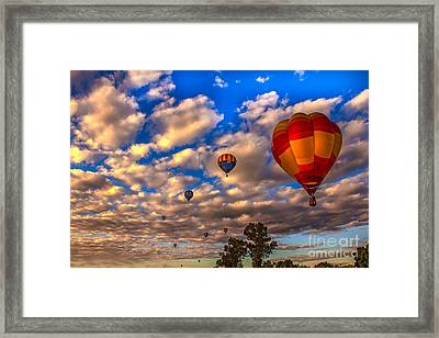 Colorado River Crossing 2012 Framed Print by Robert Bales