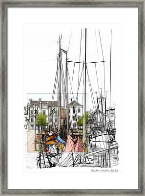 Colored Past Framed Print by Stefan Kuhn