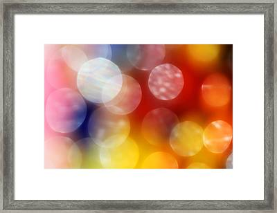 Colorful Abstract 4 Framed Print by Mary Bedy