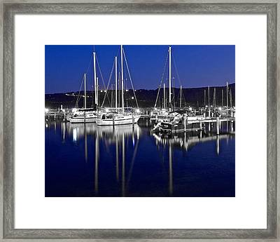 Colorful Black And White Framed Print by Frozen in Time Fine Art Photography