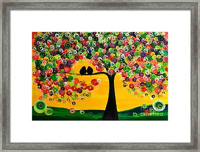 Colorful Day Framed Print by Mariana Stauffer