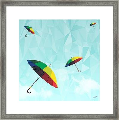 Colorful Day Framed Print by Mark Ashkenazi