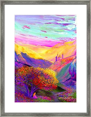 Colorful Enchantment Framed Print by Jane Small