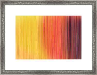 Colorful Fibres Framed Print by Neelanjana  Bandyopadhyay