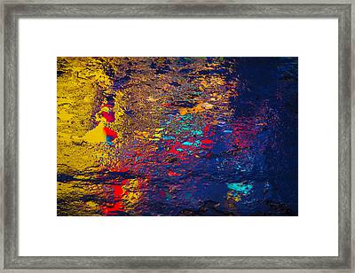 Colorful Reflections Framed Print by Garry Gay
