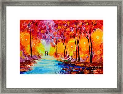 Colorful Season Framed Print by Mariana Stauffer