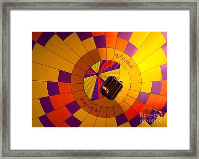 Colorful Underbelly Framed Print by Inge Johnsson