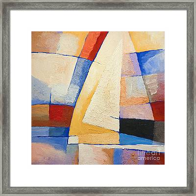 Colorful Winds Framed Print by Lutz Baar