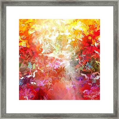 Colorplay 9 Framed Print by Artwork Studio
