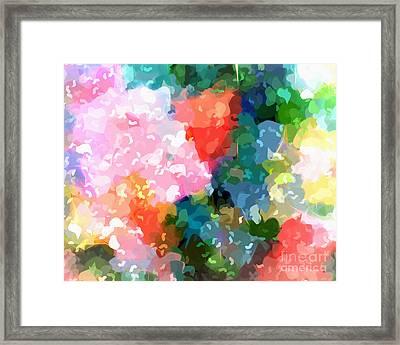 Colorplay Framed Print by Artwork Studio