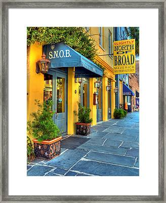 Colors Of Charleston 2 Framed Print by Mel Steinhauer