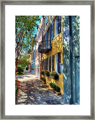 Colors Of Charleston 5 Framed Print by Mel Steinhauer