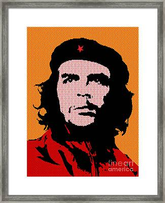 Colors Of Che No.3 Framed Print by Bobbi Freelance