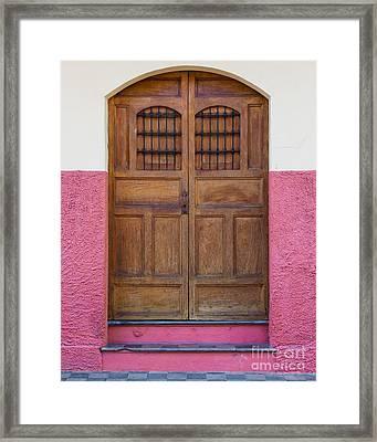 Colors Of Granada I Framed Print by Christina Klausen