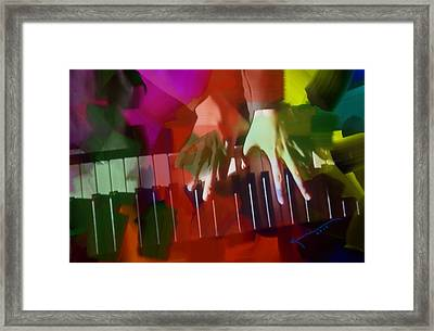 Colors Of Music Framed Print by Kume Bryant
