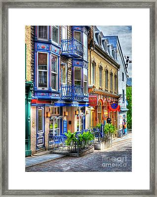Colors Of Quebec 15 Framed Print by Mel Steinhauer
