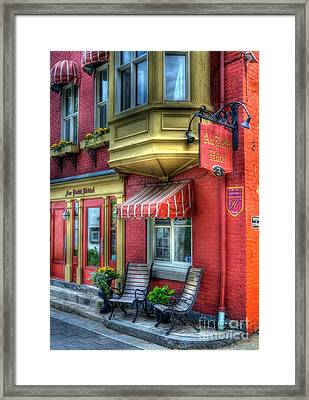Colors Of Quebec 4 Framed Print by Mel Steinhauer