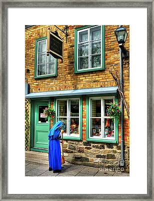 Colors Of Quebec 5 Framed Print by Mel Steinhauer