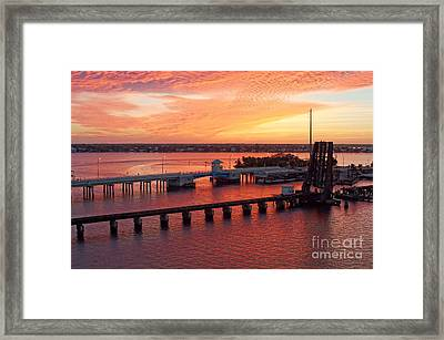 Colors Of The Day Framed Print by Lynda Dawson-Youngclaus