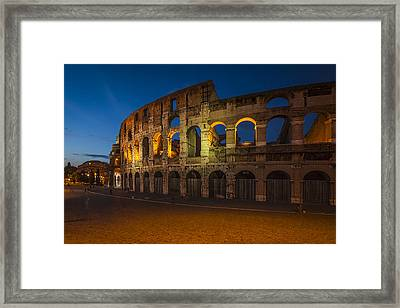 Colosseum Framed Print by Erik Brede