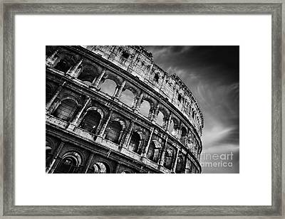 Colosseum Framed Print by Rod McLean
