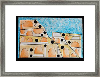 Colosso Framed Print by Micaela Linton