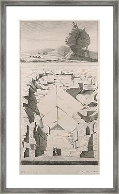 Colossus Of Memnon Framed Print by British Library
