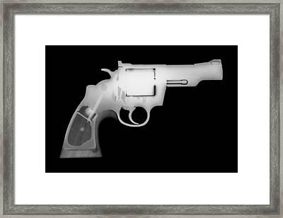 Colt 357 Magnum Reverse Framed Print by Ray Gunz