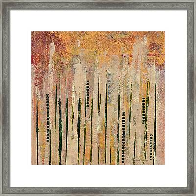 Columns Framed Print by Moon Stumpp