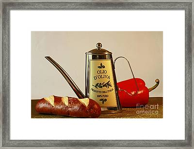 Come Cook With Me Framed Print by Inspired Nature Photography Fine Art Photography