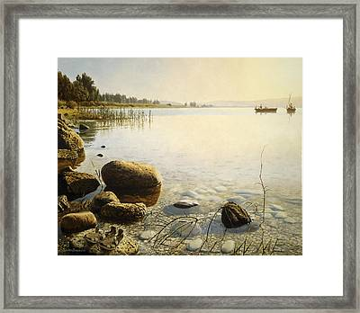 Come Follow Me Framed Print by Graham Braddock