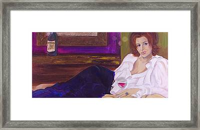 Come Hither Framed Print by Debi Starr