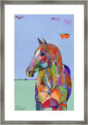 Come On Over Framed Print by Tracy Miller