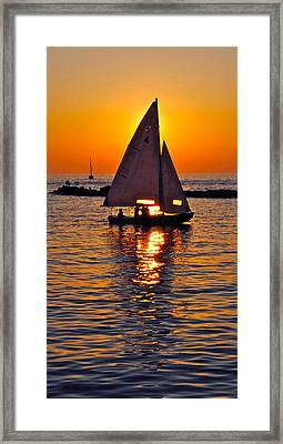 Come Sail Away With Me Framed Print by Frozen in Time Fine Art Photography