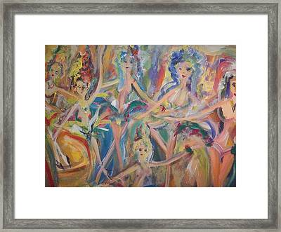 Come See Our Show Framed Print by Judith Desrosiers