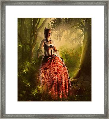 Come To Me In The Moonlight Framed Print by Georgiana Romanovna