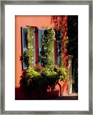 Come To My Window Framed Print by Karen Wiles