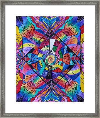 Come Together Framed Print by Teal Eye  Print Store