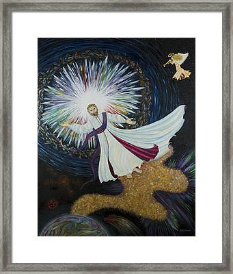 Come With Me Framed Print by Julia Bowman