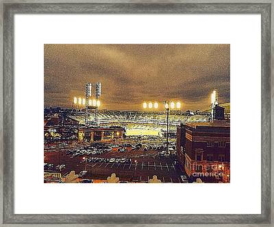 Comerica Night Game 2 Framed Print by J S