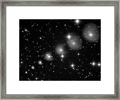 Comet 29p Schwassmann-wachmann Framed Print by Damian Peach