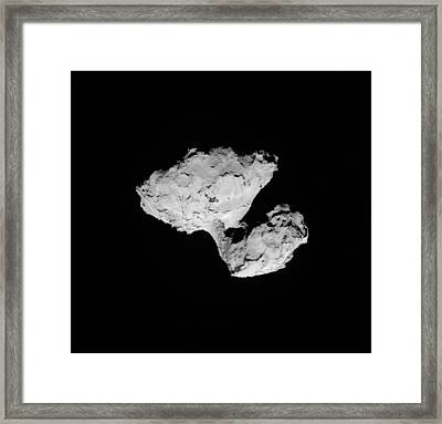 Comet Churyumov-gerasimenko Framed Print by Science Source