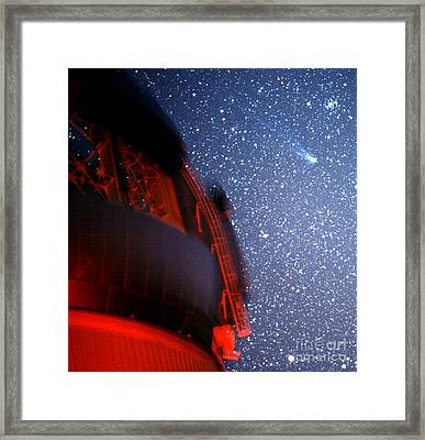 Comet Neat Framed Print by Stephen & Donna O'Meara