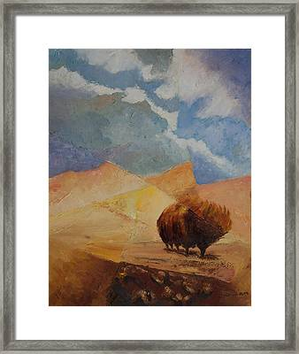 Comfort 2 Framed Print by William Killen